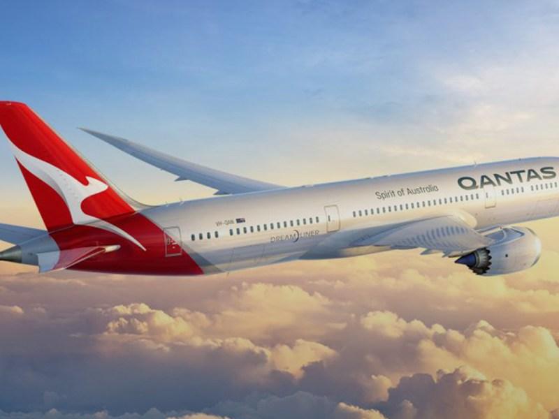 Qantas new brand livery