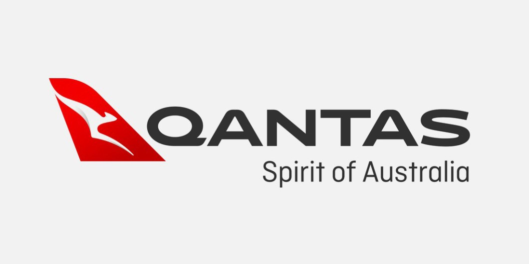 New Qantas logo in full