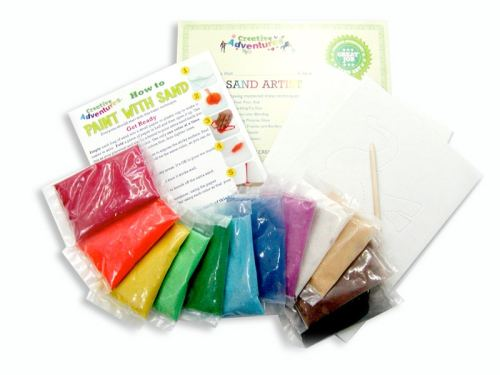 Sand Art Kit Contents