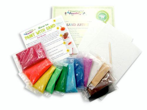 Sand Art Kit Contents
