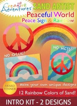 Peaceful World Sand Art Kit