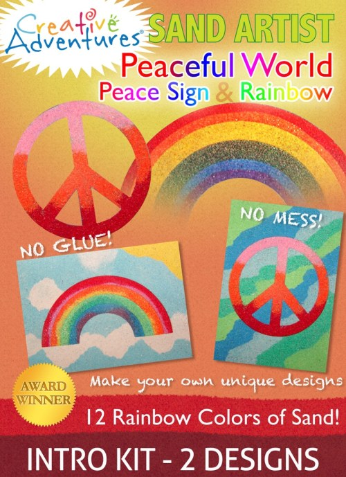 Peaceful World Sand Art Kit