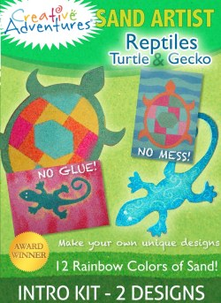 Sand Art Kit Reptiles