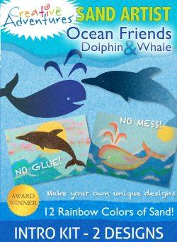 Sand Art Ocean Friends