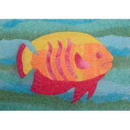 sand art fish