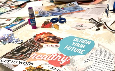 Making Vision Boards, a New Year's Tradition