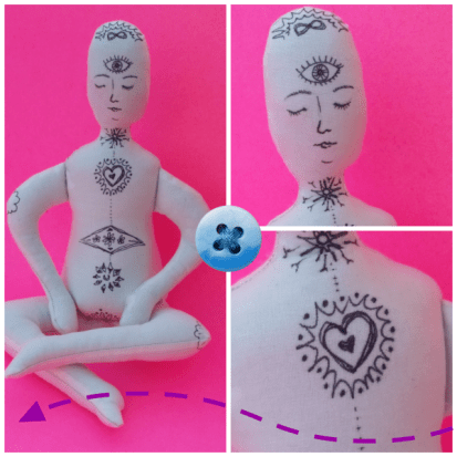Meditation Doll - www.creativeandmindful.com