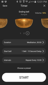 Insight Timer screenshot | www.creativeandmindful.com