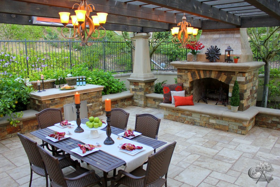 Outdoor Rooms on Country Patio Ideas id=86313