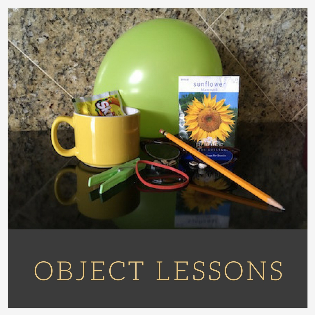 Object Lessons A Z To Teach Bible Truth
