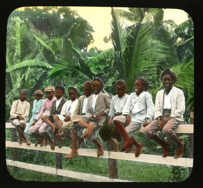 Jamaica Boys. Brown & Dawson, c. 1890. Courtesy Caribbean Photo Archive / Autograph ABP