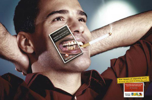 Anti smoking advertisements - Tooth Effect and Mouth Cancer