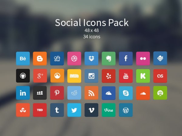 Soft Social Icon Pack