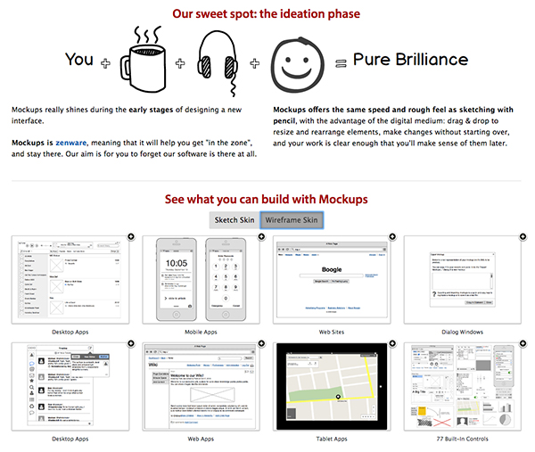 Balsamiq Mockups - Wireframing tools for designers