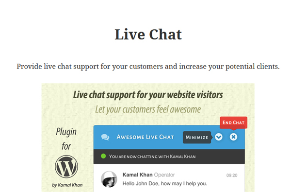 awesome-live-chat-plugin