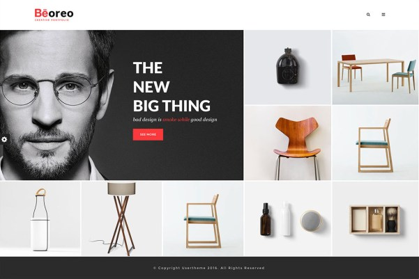 Beoreo WordPress Website Theme