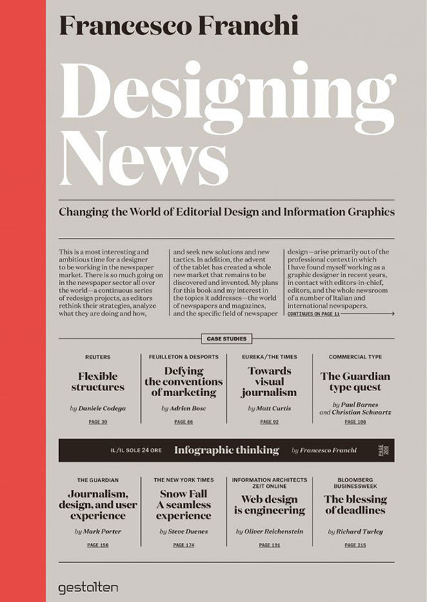 Changing the world of editorial design and information graphics