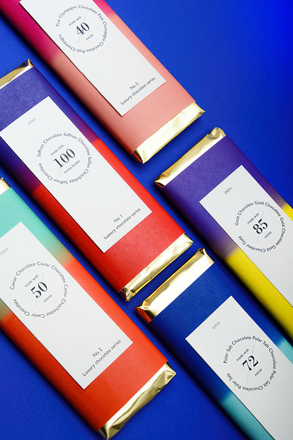 Luxury Chocolate Packaging Seris Collection