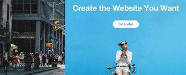 WIX free website building