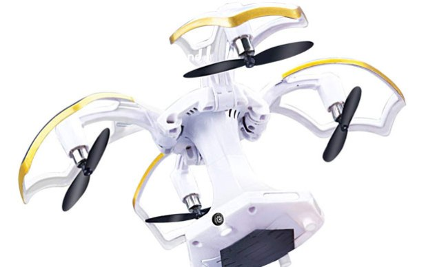 LBKR Tech FPV RC Drone, WiFi Live Feed RC Quadcopter with HD Camera