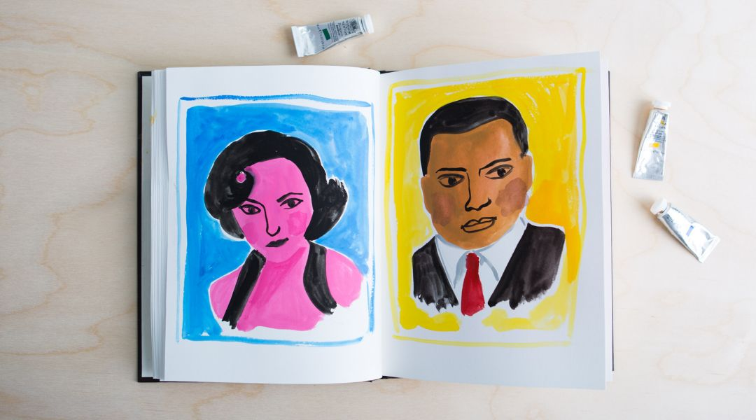 Illustrative Painting With Gouache By Jennifer Orkin Lewis