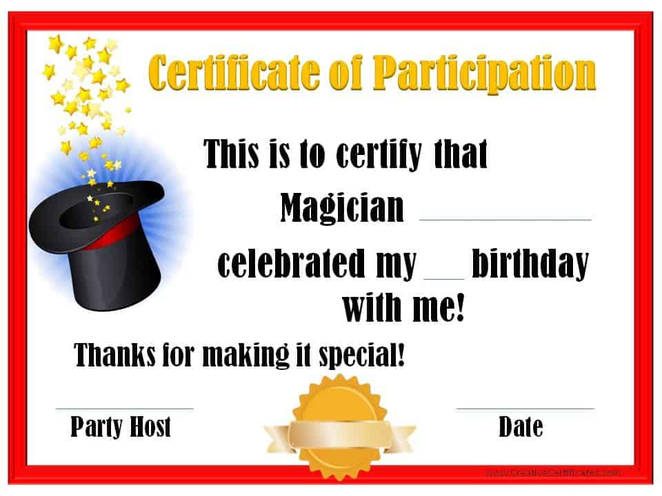 Thank You For Coming To My Party Free Custom Printables