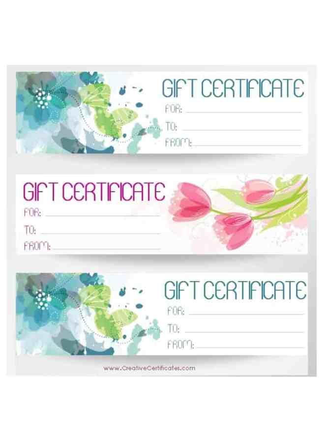 Free Printable Wedding Gift Certificate Templates Wedding – Wedding Gift Certificate Template