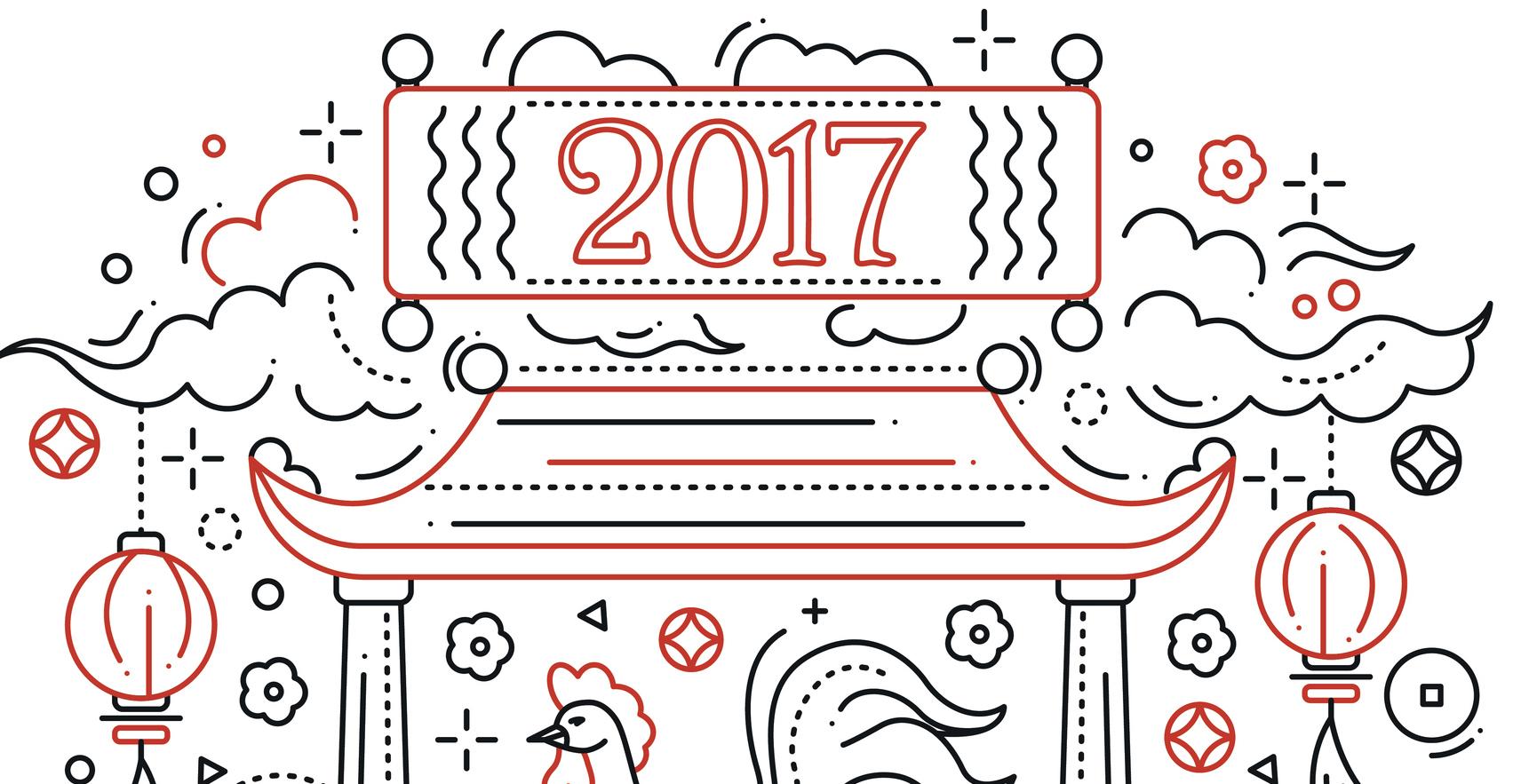 Chinese New Year Rat Badges Creative Chinese