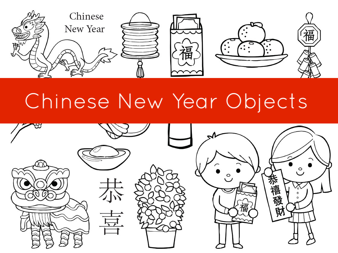 Coloring Pages Chinese New Year Activities For