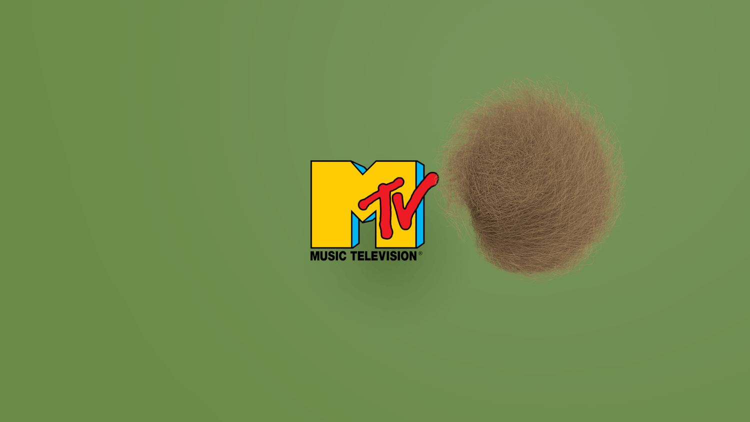 Portfolio: MTV animated bumper – Dancing hair ball