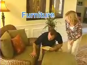 In-home furniture repair