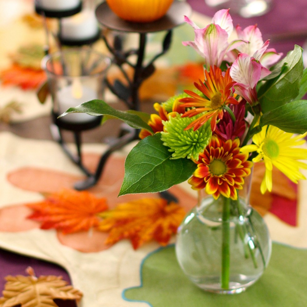 """""""Thanksgiving table"""" [cropped] by Kevin Dooley via Flickr (CC BY 2.0) - Ready for Thanksgiving grace"""