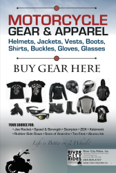 Motorcycle Gear Poster for World of Wheels