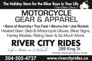 River City Rides Ad Design CN