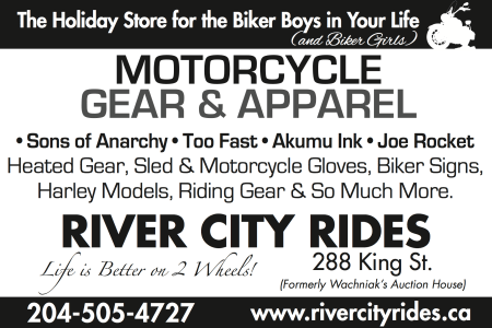 River City Rides Ad Design CN