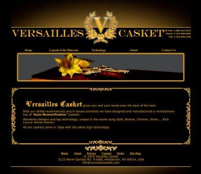 Versailles Caskets