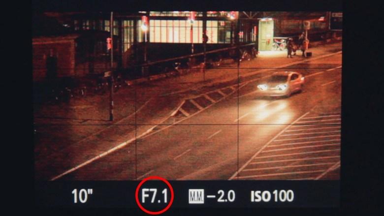 Apertura Cómo hacer fotos de noche con larga exposición
