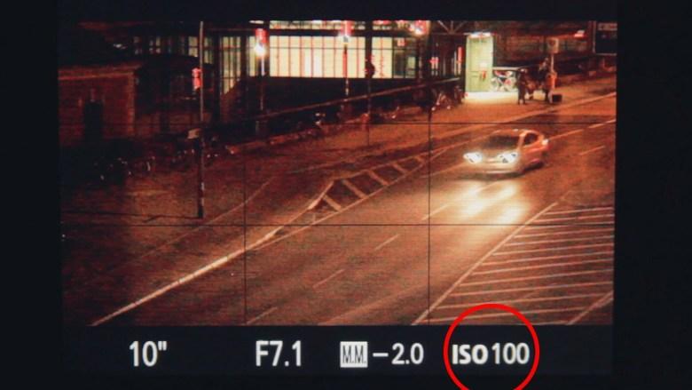 ISO Cómo hacer fotos de noche con larga exposición