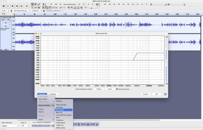 Bass Boost Audacity 1 Cómo grabar y mejorar audio con Audacity, ¡un programa GRATIS!