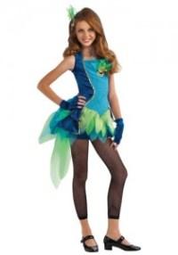 Tween Peacock Costume