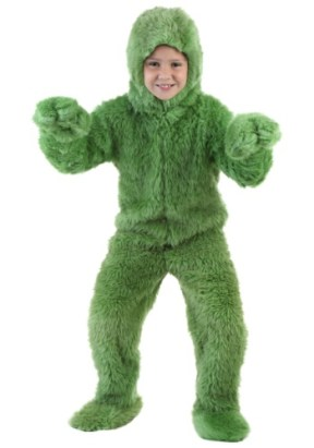 childrens grinch costume