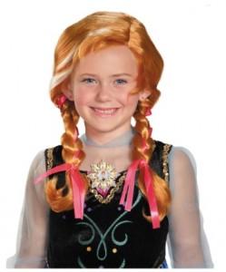 frozen anna wig