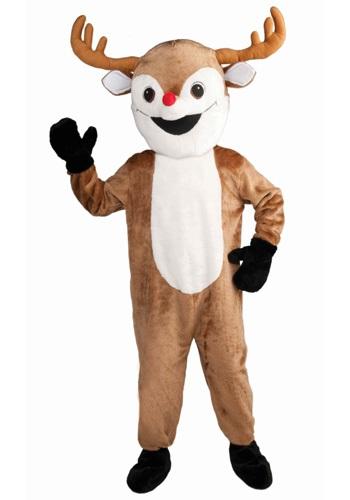 mascot reindeer costume