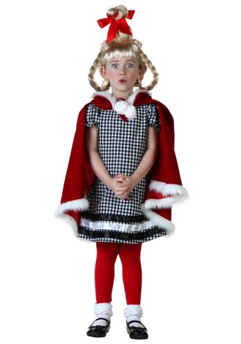 0ff01e3d9f94 Cindy Lou Who Costume for Adults, Kids and Toddlers | Creative ...