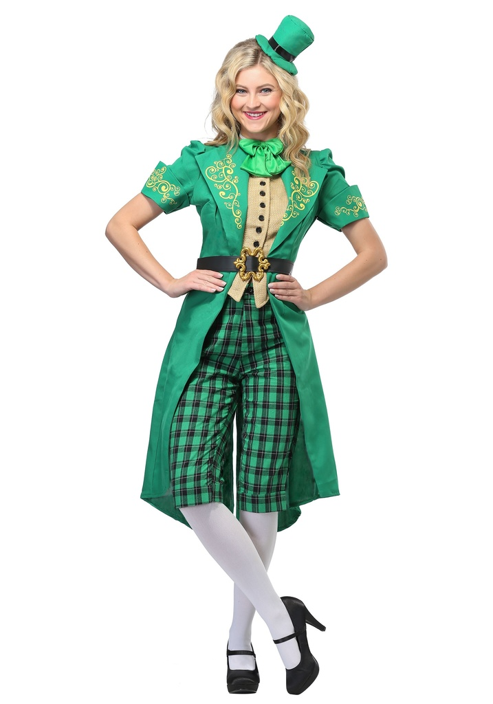 charming leprechaun costume