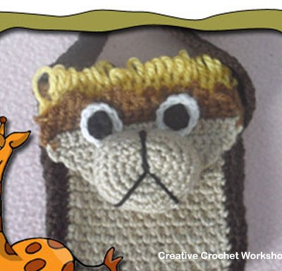 Little Lion Bag – Free Crochet Pattern | Creative Crochet Workshop #freecrochetpattern