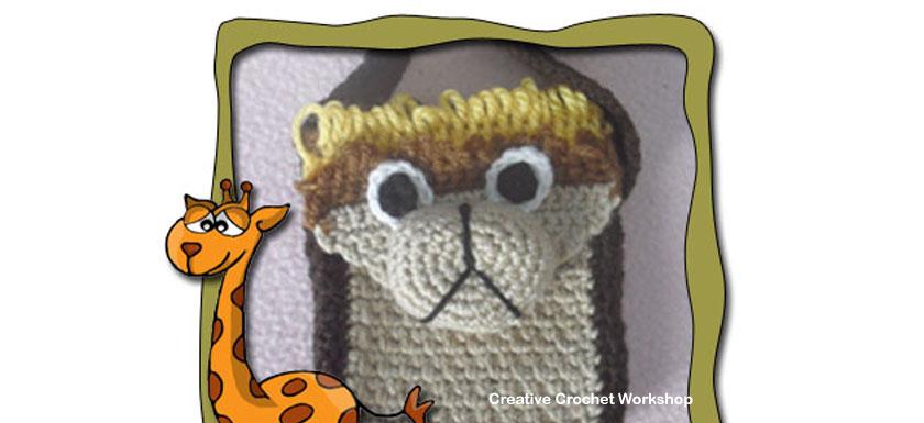 Little Lion Bag – Free Crochet Pattern | Creative Crochet Workshop #freecrochetpattern