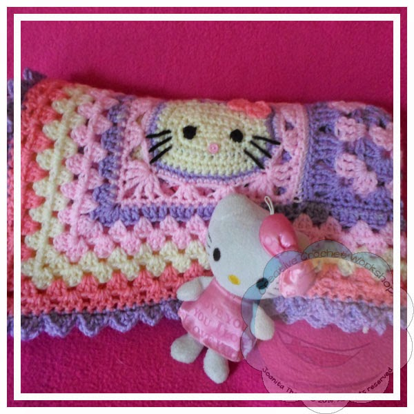 Hello Kitty Baby Blanket Creative Crochet Workshop