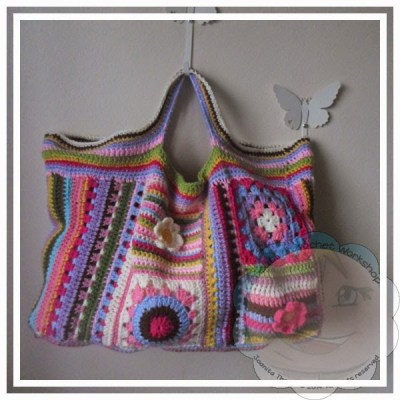 Scraplicious Bag|Creative Crochet Workshop