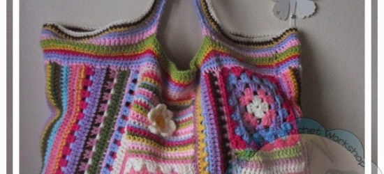 Scraplicious Bag Creative Crochet Workshop